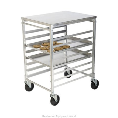 Focus Foodservice LLC FAKDMSR9 Prep Cart Pan Rack w Work Top