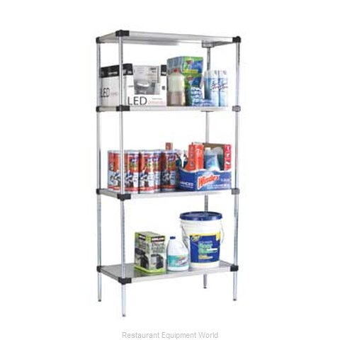 Focus Foodservice LLC FF2448SSS Shelving Solid