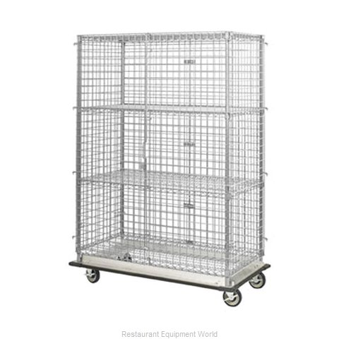 Focus Foodservice LLC FHDMSEC24364 Shelving Unit on Dolly Truck