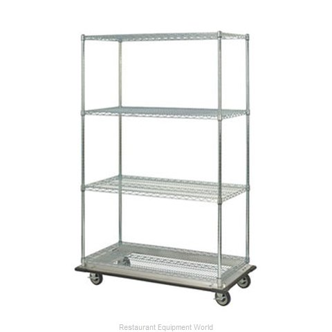 Focus Foodservice LLC FST246063CH Shelving Unit on Dolly Truck
