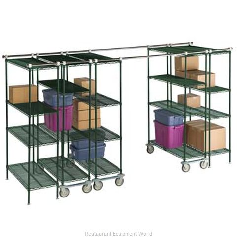 Focus Foodservice LLC FTSTK8 Track Shelving Section (Magnified)