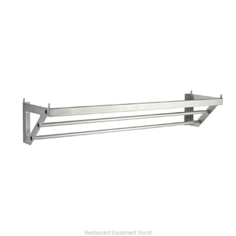 Focus Foodservice LLC FWMPR60SS Pot Rack Wall-Mounted (Magnified)