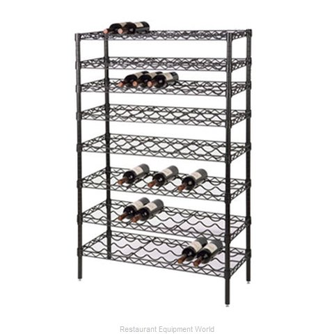 Focus Foodservice LLC FWSK4863BK Shelving Unit, Wine