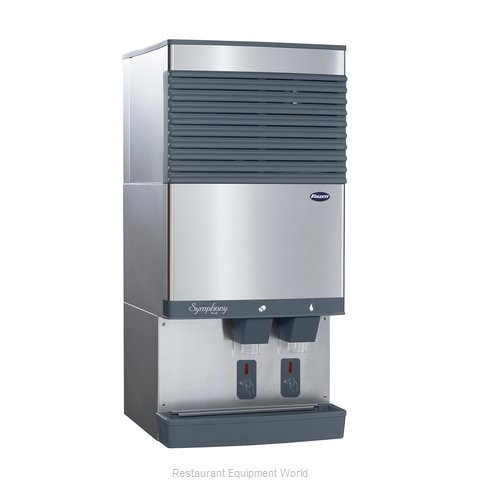 Follett 110CT425A-SI Ice Maker Dispenser, Nugget-Style