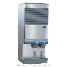 Follett 25CT400W-L Ice Machine Dispenser Nugget Style