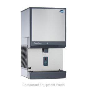 Follett 50CI425W-SI Ice Maker Dispenser, Nugget-Style