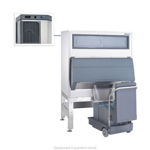 Follett HMC1000ABS Ice Machine Nugget Compressed