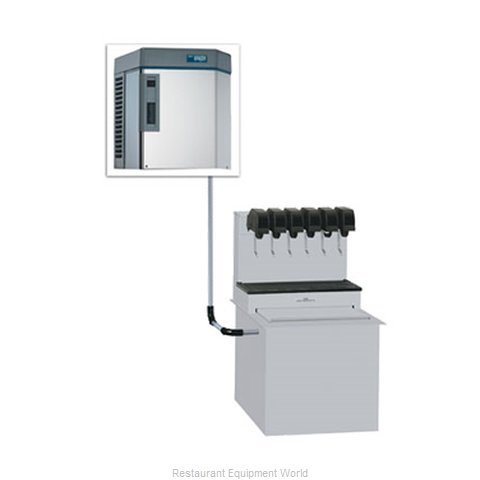 Follett HMD1000NJS Ice Machine Nugget Compressed