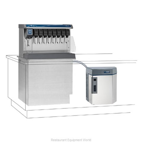 Follett HMD1650NVS Ice Maker, Nugget-Style