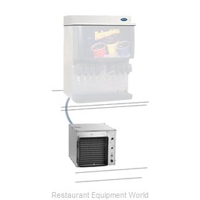 Follett MCE400AHS Ice Machine Nugget Compressed