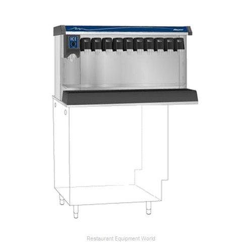 Follett VU155B10RL Soda Ice & Beverage Dispenser, In-Counter