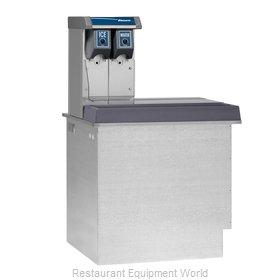 Follett VU155N0RL Soda Ice & Beverage Dispenser, In-Counter