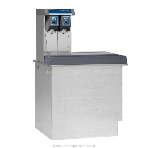 Follett VU155N0RP Soda Ice Beverage Dispenser In-Counter