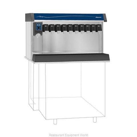 Follett VU300B10RP Soda Ice & Beverage Dispenser, In-Counter