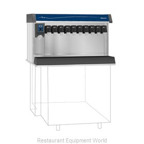 Follett VU300B8RP Soda Ice & Beverage Dispenser, In-Counter