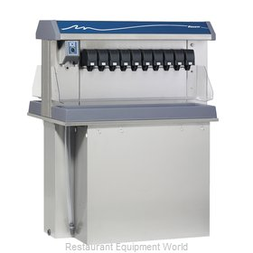 Follett VU300M20DL Soda Ice & Beverage Dispenser, In-Counter