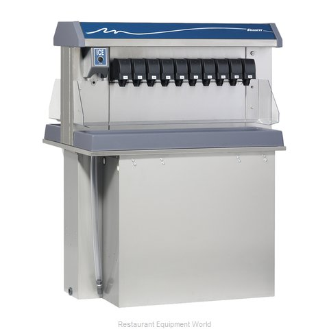 Follett VU300M20DP Soda Ice Beverage Dispenser In-Counter