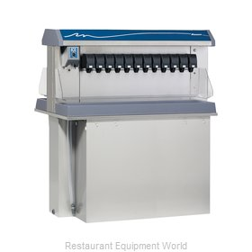 Follett VU300M24DL Soda Ice & Beverage Dispenser, In-Counter
