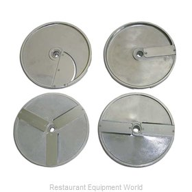 Food Machinery of America 10076 Food Processor, Slicing Disc Plate