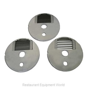 Food Machinery of America 10117 Food Processor, Slicing Disc Plate