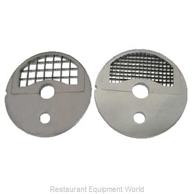 Food Machinery of America 10120 Food Processor, Dicing Disc Plate