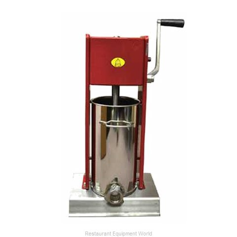 Food Machinery of America 12KV Sausage Stuffer Manual (Magnified)