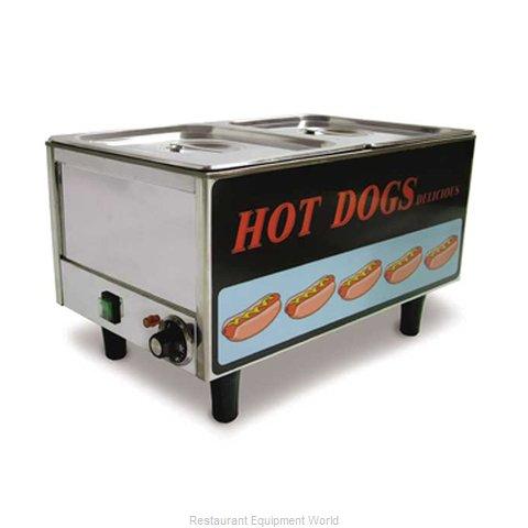 Food Machinery of America 17133 Hot Dog Steamer