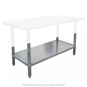 Food Machinery of America 17614 Undershelf for Work Prep Table