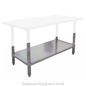 Food Machinery of America 17626 Work Table, Undershelf