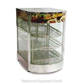 Food Machinery of America 21829 Display Case, Hot Food, Countertop