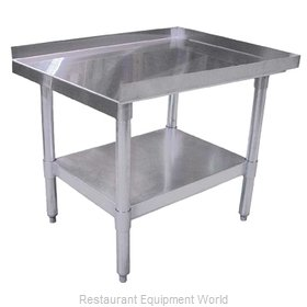 Food Machinery of America 22058 Equipment Stand, for Countertop Cooking