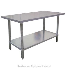 Food Machinery of America 22075 Work Table 72 Long Stainless steel Top
