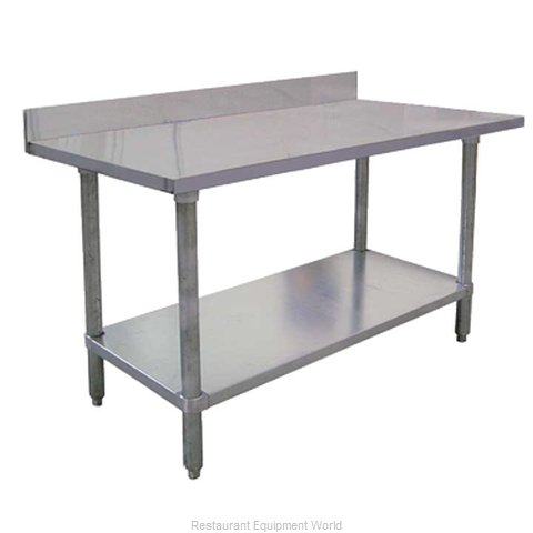 Food Machinery of America 22079 Work Table 30 Long Stainless steel Top