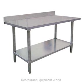 Food Machinery of America 22083 Work Table 72 Long Stainless steel Top