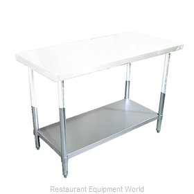 Food Machinery of America 22099 Undershelf for Work Prep Table