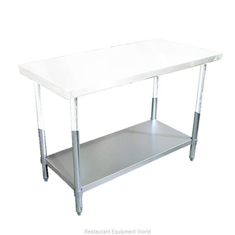 Food Machinery of America 22107 Undershelf for Work Prep Table (Magnified)