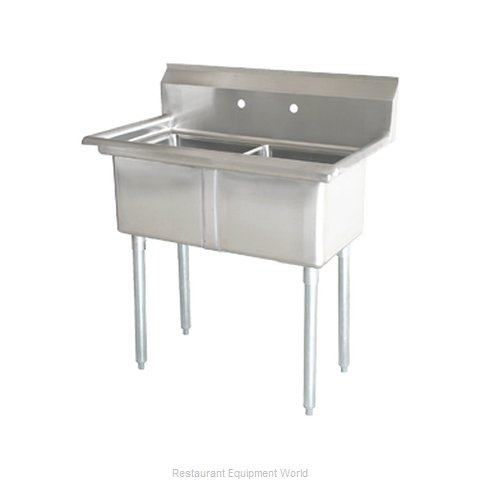 Food Machinery of America 22119 Sink 2 Two Compartment