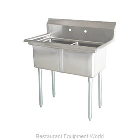Food Machinery of America 22119 Sink, (2) Two Compartment