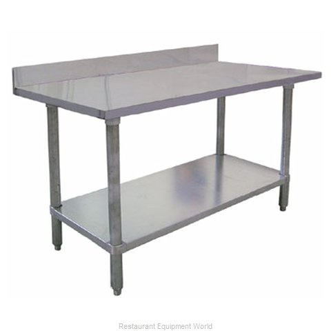 Food Machinery of America 23805 Work Table 72 Long Stainless steel Top