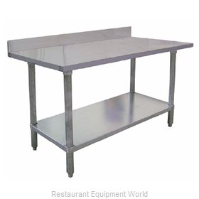 Food Machinery of America 23806 Work Table 84 Long Stainless steel Top