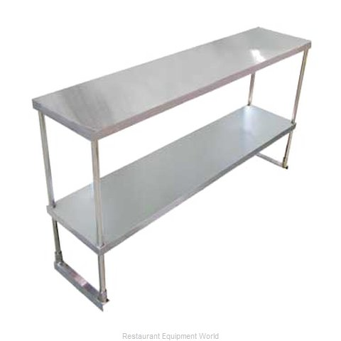 Food Machinery of America 23988 Overshelf, Table-Mounted (Magnified)