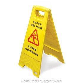 Food Machinery of America 24414 Sign, Wet Floor