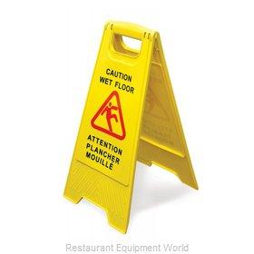 Food Machinery of America 24415 Sign, Wet Floor