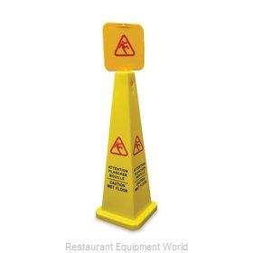 Food Machinery of America 24417 Sign, Wet Floor