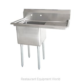 Food Machinery of America 25248 Sink, (1) One Compartment