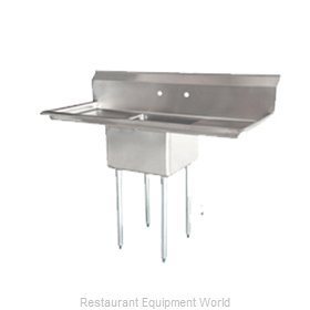 Food Machinery of America 25249 Sink, (1) One Compartment