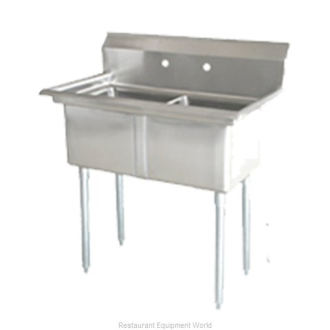 Food Machinery of America 25266 Sink, (2) Two Compartment