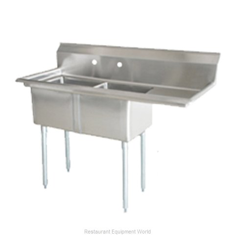 Food Machinery of America 25268 Sink, (2) Two Compartment