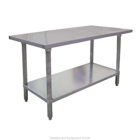 Food Machinery of America 26045 Work Table 84 Long Stainless steel Top