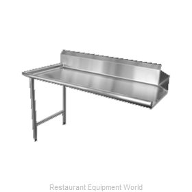Food Machinery of America 28472 Dishtable, Clean Straight